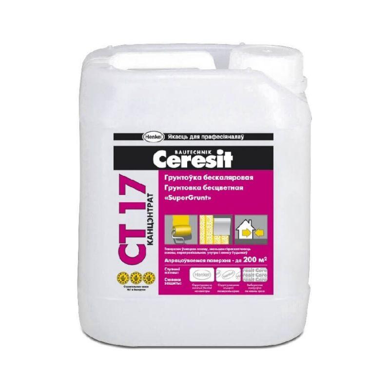 Грунтовка белая Ceresit CT-17 5л